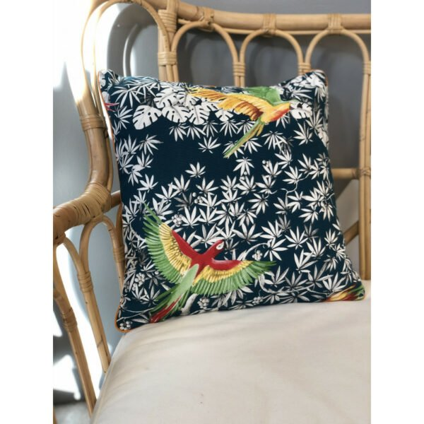 Coussin Tropical Perroquet